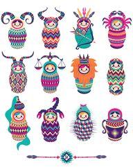 Zodia Nesting Dolls