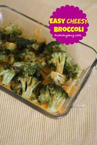 Easy Cheesy Broccoli