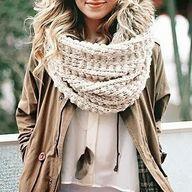 chunky scarf | winte