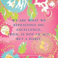 Excellence Aristotle...