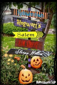 Halloween Yard Signs