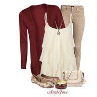 Cute fall outfit; da