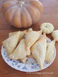Pumpkin Turnovers  