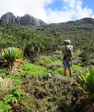 Hiking in Mt. Elgon