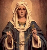 our lady of the rosa