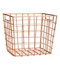 Copper Basket | H&M