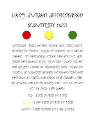 math worksheet : garnishyihu  long ision games printable : Division Games Worksheets