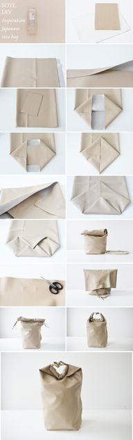 DIY Bag Kenya Hara i