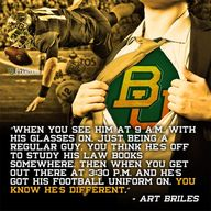 Coach Art Briles' fa