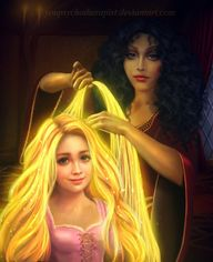 Rapunzel and Mother