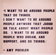 """""""I want to be around"""