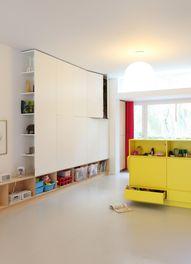 built-in storage in