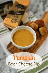 Pumpkin Beer Cheese