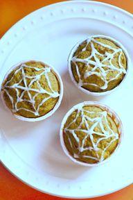 Pumpkin muffins with