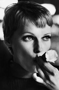 Mia Farrow getting a