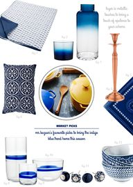 Indigo for decoratin