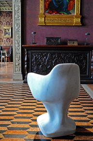 X Marble Chair by St
