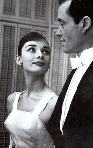 Audrey Hepburn and M