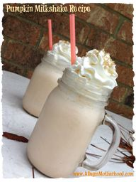 Pumpkin Milkshake Re