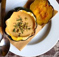 Acorn Squash Soup -