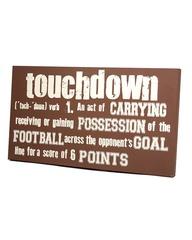 Football Sign