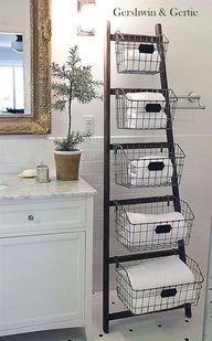 Wood Display Ladder