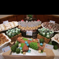 Dessert table woodla