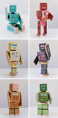 DIY Printable Robots