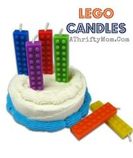 Lego Birthday candle