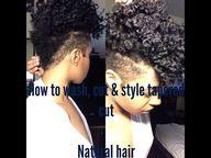 tapered natural hair