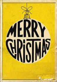 Merry Christmas vint