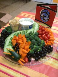 Dragon veggie tray f