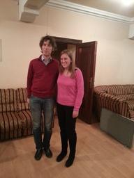 Foto con el pianista
