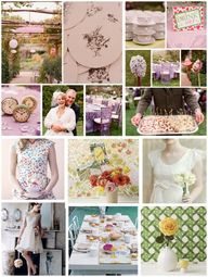 Ideas for my Garden Tea Party