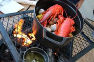 A lobster bake at Ar