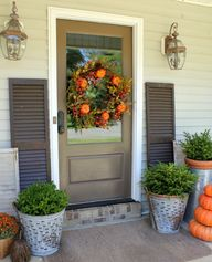 Fall Front Porch @ D