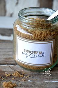 Brown sugar scrub re