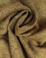 English Wool Tweed Fabric | Ochre | Truro Fabrics