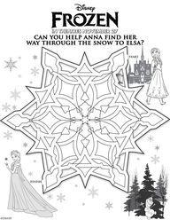 Maze. Disney's Froze