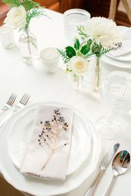 winter tablescape //