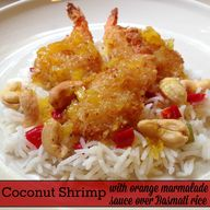 Coconut Shrimp With...