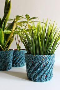 Spiral Crochet Plant
