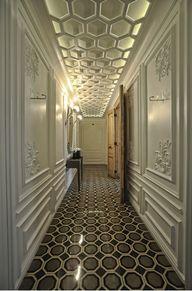 This floor tile patt
