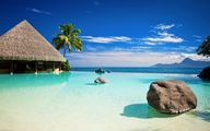 Tropical pool sea