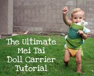 Mei Tai Doll Carrier