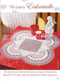 Free Rounded Crochet Doily Pattern | Free Crochet Patterns & Free