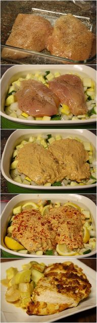 Hummus Crusted Chick