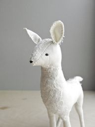 delicate white doe /