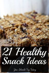 21 #healthy #snack I