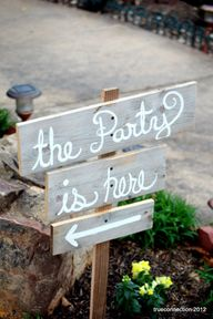 Wedding Signs Cursiv